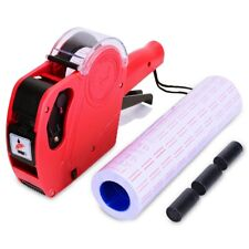 8 Digits Price Tag Gun Labeler Mx5500 Eos with Label Sticker Office Retail Shop