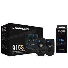 Compustar CS915 S 1500-FT Range Remote Starter Keyless Entry + BLADE AL Bypass