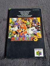 Notice Nintendo 64 Mario Party 3 très bon état