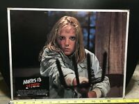 1981 Friday the 13th Part 2 Horror Authentic Mexican Lobby Card Lot #2-3-6 14x11