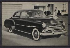 Chevrolet Styleline Vintage Rare 1950s Dutch Trading Card
