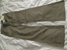 Ladies beige wide straight leg jeans by Claire.dk 40/33