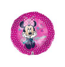"45CM DISNEY MINNIE MOUSE FOIL BALLOON PARTY Helium Quality 18""  GIRLS BIRTHDAY"
