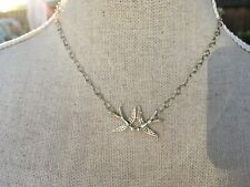 Kimberly Baker, Mini Swallows Pendant Necklace, Sterling Silver