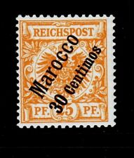 German Offices in Morocco Sc 5 NH issue of 1899 - overprint on 25pf