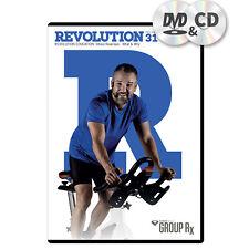 Power Music Group Rx - REVOLUTION Vol.31 Fitness Musik Sport CD & DVD