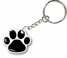 Porte clés clefs keychain voiture moto maison patte empreinte chat paw chien