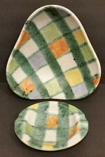 VINTAGE Ceramic Serving Bowls Set  MID CENTURY MADE GERMANY MODERN ART POTTERY
