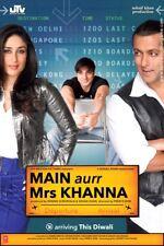 Main Aur Mrs Khanna Salman Khan's Bollywood Hindi New Sealed Pack Movie Film DVD