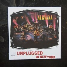 CD - Nirvana, MTV Unplugged in New York - 1994 Geffen Ged 24727 German Release