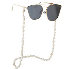 Sunglasses Holder Chain Shell Reading Glasses Spectacles Neck Cord Metal Strap..
