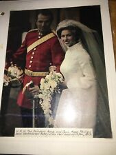 45 of The Ultimate 1973 Royal Wedding/Family Stamp Collection in one notebook