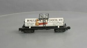 American Flyer 24323 Vintage S Bakers Chocolate Single Dome Tank Car
