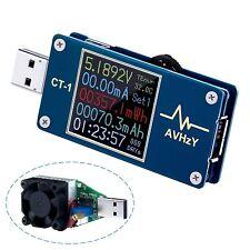 AVHzY USB Meter Tester USB Load Current Tester Voltage Detector CT-1 , DC 5A 25V