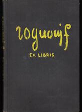 Franco Rognoni ex libris 24 puntesecche originali firmate 1943 dedica 150 copie