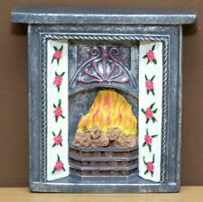 Dolls House Doll House Fireplace Clock Stand 1:12 #5aa568-20