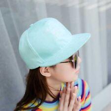 Fashion Unisex Suede Baseball Cap Snapback Visor Sport Sun Adjustable Hat