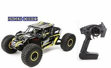 LOSI 1/10 Rock Rey 4WD RTR Radio Control Truck with AVC Yellow LOS03009T1 HH