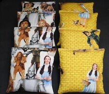 8 Aca Regulation Corn Hole Game Bags made w Wizard Oz Yellow road Fabric