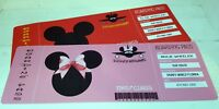 FUN DISNEY INSPIRED BOARDING PASS MICKEY OR MINNIE PERSONALISED WITH NAMES DATES