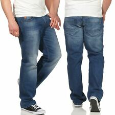 M.O.D Herren Jeans Thomas Comfort papeete blue Straight Hose Basic Pants casual