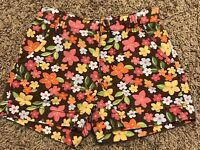 Gymboree Girls Floral Shorts Size 5