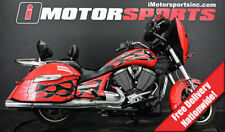 2015 Victory Motorcycles Cross Country Havasu Red with Black Flames