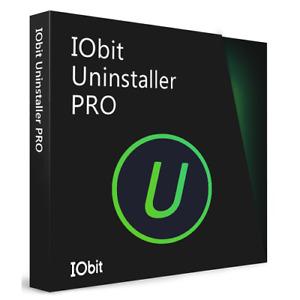 IOBit Uninstaller 10 PRO Genuine Retail Key 1 Year 3 PC Fast Shipping Best Price