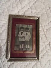 CHARMING ! FRENCH VINTAGE METAL PICTURE FRAME