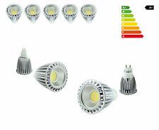5x 9w cob lámparas LED zócalo gu10 mr16 lámpara luz reflector spot pera