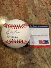 Wil Myers Autographed Romlb SS Ball W/Coa San Diego Padres
