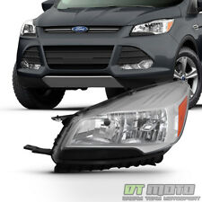 2013-2016 Ford Escape Factory Halogen Style Headlight Headlamp Left Driver Side