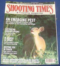 SHOOTING TIMES MAGAZINE SEPTEMBER 19-25 1991 - AN EMERGING PEST