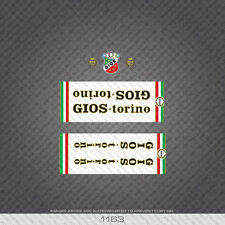 01163 Gios Bicycle Stickers - Decals - Transfers