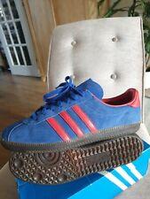 Adidas SPZL Spiritus Spezial Blue Suede Trainers Size UK10
