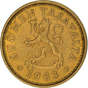 [#383663] Monnaie, Finlande, 10 Pennia, 1963, SUP+, Aluminum-Bronze, KM:46