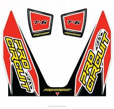 PRO CIRCUIT REPLACEMENT T6 EXHAUST STICKER DECAL KIT CGH UK MX