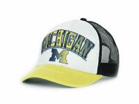 Michigan Wolverines NCAA In the Paint Mesh back Adjustable Foam Trucker Cap Hat