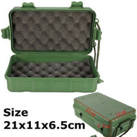 AB_ Outdoor Shockproof Waterproof Airtight Survival Storage Case Container Box C