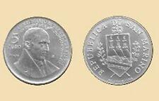 5 EURO Silber Gedenkmünze Bartolomeo Borghesi San Marino 2004
