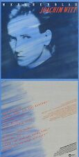 """Joachim Witt """"Märchenblau"""" Drittes Werk! Von 1982! Digital remastered! Neue CD!"""