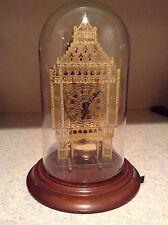 Big Ben HERMLE Franklin Mint -  Skeleton Mantel Clock with Glass Dome