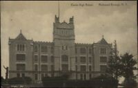 Richmond Staten Island NY Curtist High School c1910 Postcard