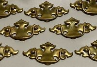 Vintage Lot of 8 Batwing Chippendale Drawer Pulls Handles Cabinet Cupboard Pull