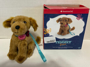 "American Girl Tenney's Golden Retriever WAYLON 6"" Plush Pet Dog 2016 Retired Box"