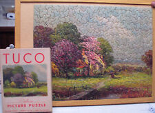 Tuco DELUXE Picture Puzzle  Complete Cottage Trees