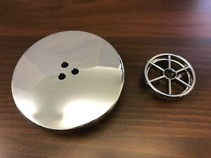 Chrome Cap / Cover for 50mm shower tray waste holes