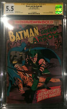 Brave and the Bold #85 CGC 5.5 SS Neal Adams First New Green Arrow with Batman