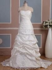 B1286 de luxe robe de mariage Robe pour mariée 34-48 ou personnalisation