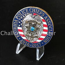 A2 Florida Police Chiefs Association 2016 - 2017 Challenge Coin